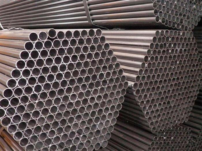 Tubos industriais quadrados